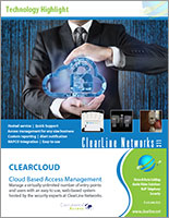 CLEARCLOUD hosted security